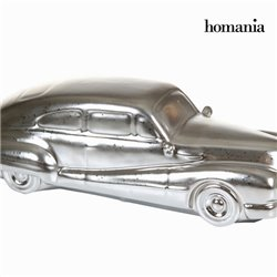 Decorative Figure Ceramic Silver (34 x 13 x 10 cm) by Homania