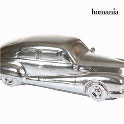 Figura Decorativa Cerámica Plata (34 x 13 x 10 cm) by Homania