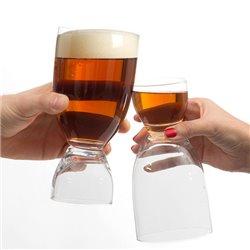 Copo de Cerveja com Copo de Shot