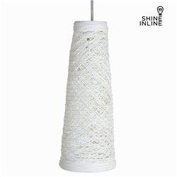 Lámpara de Techo Material Ratán Blanco by Shine Inline