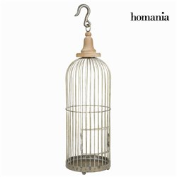 Decorative grey metal cage - Art & Metal Collection by Homania
