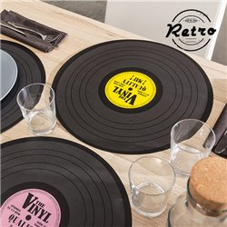 Retro Disco Table Mat