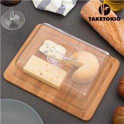 TakeTokio Käsebrett aus Bambus