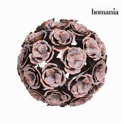 Bola flor em metal e cobre - Art & Metal Coleção by Homania