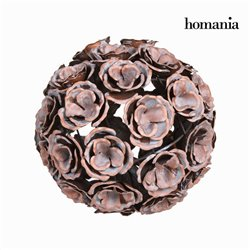 Copper metal flower ball - Art & Metal Collection by Homania