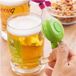 Bierkrug mit Klingel