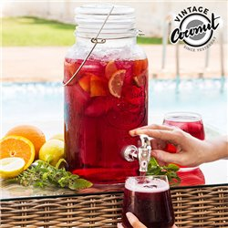 Distributeur de Boissons Vintage Ice Cold Drink