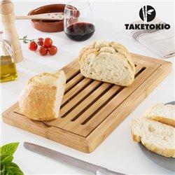 TakeTokio Bamboo Bread Board
