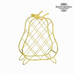 Bottle rack (58 x 42 x 18 cm) by Bravissima Kitchen