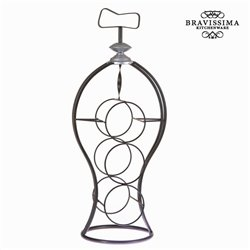 Bottle rack Iron (59 x 23 x 19 cm) - Art & Metal Collection by Bravissima Kitchen