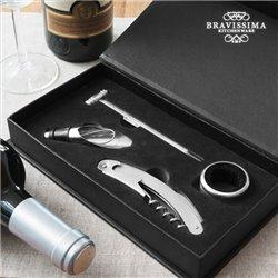 Set d'Accessoires pour Vin Bravissima Kitchen (4 pièces)