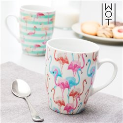 Wagon Trend Flamingo Mug