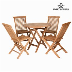 Ensemble Table + 4 Chaises Craftenwood