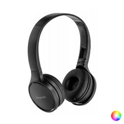 Panasonic Foldable Headphones with Bluetooth RP-HF410BE USB Blue
