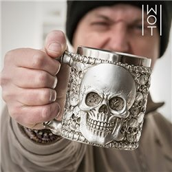 "Wagon Trend Calavera Mug ""Single Skull"""