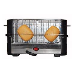 Toaster COMELEC TP-7713/7714 800W Black Inox