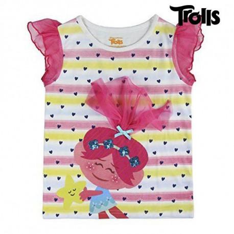 Child's Short Sleeve T-Shirt Trolls 72638 7 Years