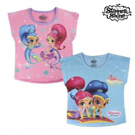 T shirt à manches courtes Enfant Shimmer and Shine 72682 2 ans
