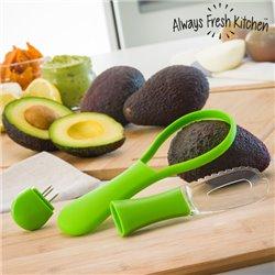 Cortador-Descascador de Abacates All in One Avocadore