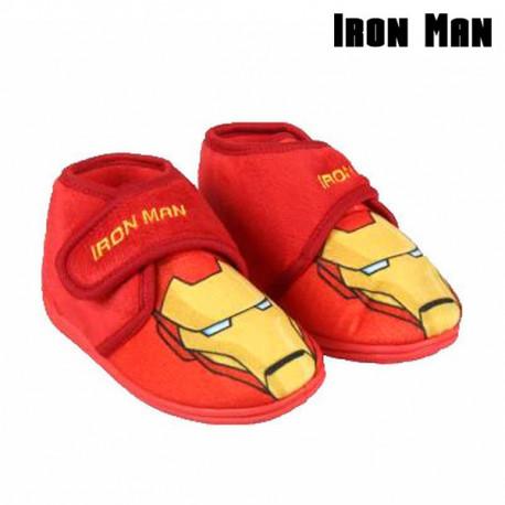 Zapatillas de Estar por Casa Ironman 73323 Rojo 25