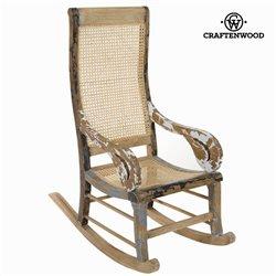 Cadeira de baloiço Madeira de cedro (113 x 110 x 55 cm) by Craftenwood