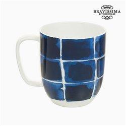 Cup Porzellan Firkanter Blå - Kitchen's Deco Kollektion by Bravissima Kitchen