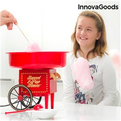 InnovaGoods Zuckerwattemaschine 500W Rot