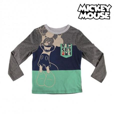 Maglia a Maniche Lunghe Bambino Mickey Mouse 72382 3 anni