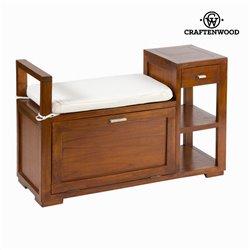 Mesa e cadeira com gaveta forest - Chocolate Coleção by Craftenwood