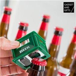 Gadget and Gifts Beer box-shaped Bottle opener Fridge Magnet