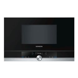 Micro-ondes intégrable Siemens AG BF634LGS1 21 L 900W Acier inoxydable