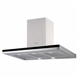 Hotte standard Nodor 130W 820m3/h Inox LED Acier