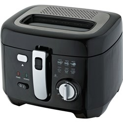 Friteuse COMELEC 222386 1800W 2,5 L Noir