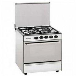 Cucina a Gas Butano Meireles 60 cm 54 L Bianco (4 Fornelli)