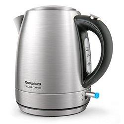 Bollitore Taurus SELENE COMPACT 1 L 2200W Acciaio inossidabile