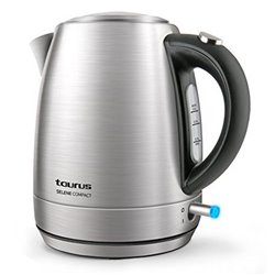 Wasserkocher Taurus SELENE COMPACT 1 L 2200W Edelstahl