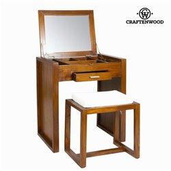 Mesa toucador com banco - Let's Deco Coleção by Craftenwood