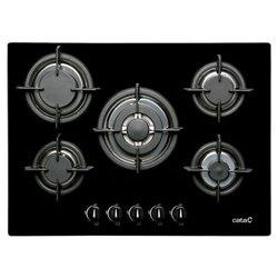Gas Hob Cata L705CI (70 cm) Black (5 Stoves)