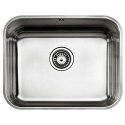 Lavello a Una Vasca Teka 10125122 BE-50.40 PLUS Acciaio inossidabile