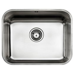 Sink with One Basin Teka 10125122 BE-50.40 PLUS Stainless steel