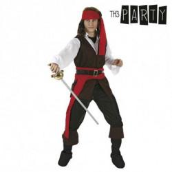 Disfraz para Adultos Pirata caribeño (4 Pcs) XL