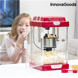 Máquina de Pipocas Tasty Pop Times InnovaGoods 310W Vermelho