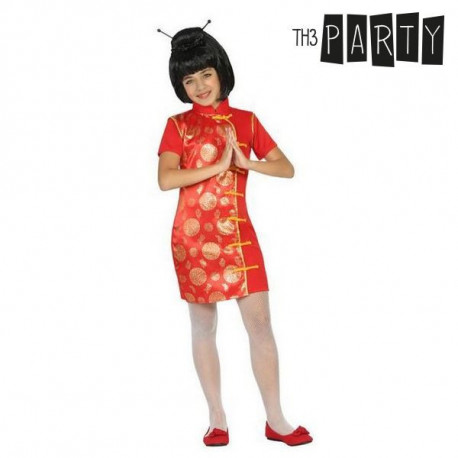 Fantasia para Crianças Chinesa Vermelho 7-9 Anos
