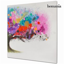 Oil Painting Canvas (100 x 100 x 4 cm) by Homania
