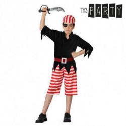 Disfraz para Niños Pirata (4 Pcs) 3-4 Años