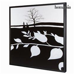 Quadro a Olio (85 x 4 x 85 cm) by Homania