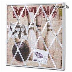 Bild Glas Mdf (40 x 3 x 40 cm) by Homania