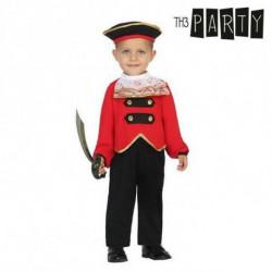 Costume per Neonati Pirata (4 Pcs) 6-12 Mesi