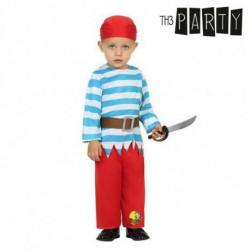 Costume per Neonati Pirata (3 Pcs) 0-6 Mesi