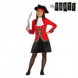 Costume per Bambini Pirata (3 Pcs) 5-6 Anni